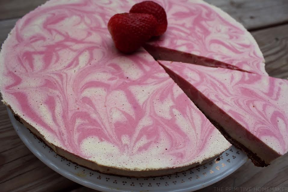 Strawberries & Cream Tart (Gluten & Dairy Free, Autoimmune Paleo)
