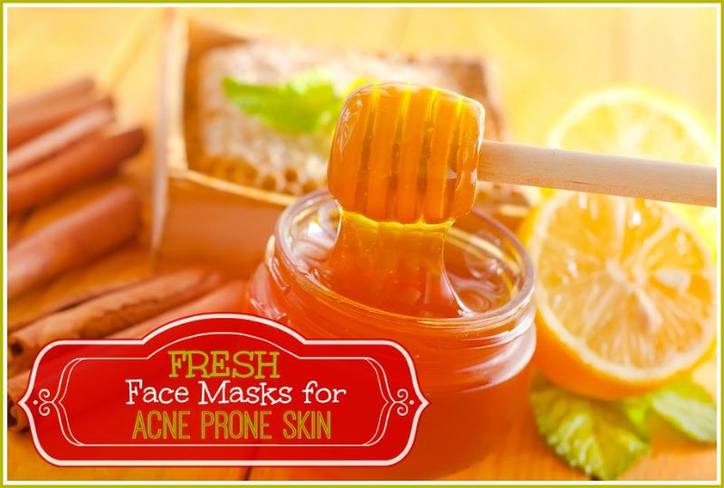 3 Fresh Homemade Face Masks for Acne Prone Skin