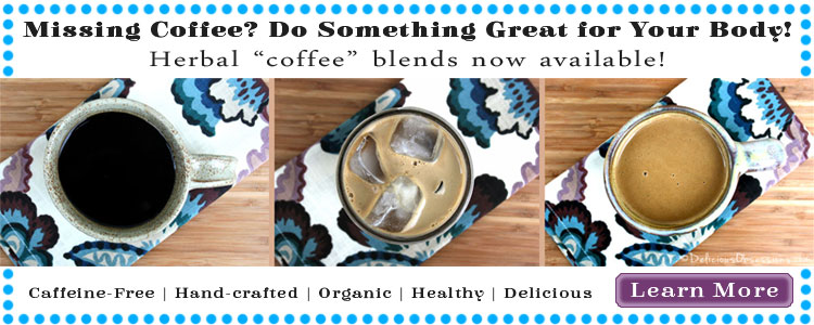 Happy Your Liver Herbal Coffee // deliciousobsessions.com #herbs #herbalremedies #herbalcoffee