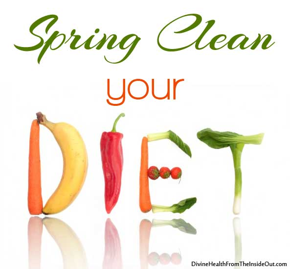 Spring Clean Your Diet // deliciousobsessions.com