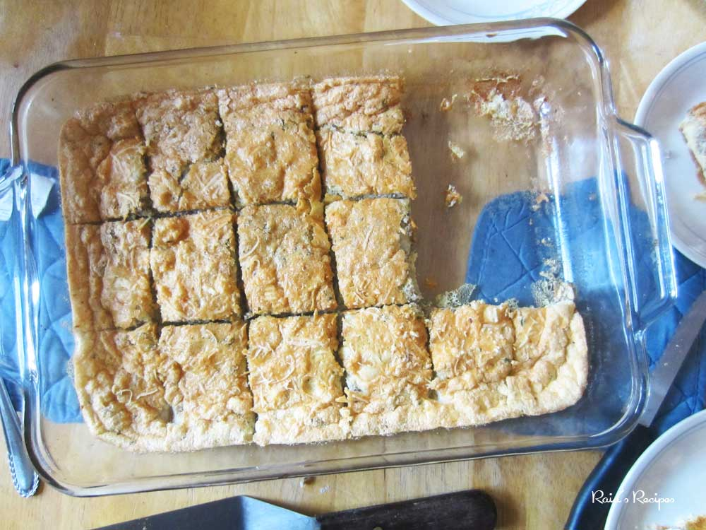 Fluffy Crustless Quiche (grain and gluten free, paleo / primal)