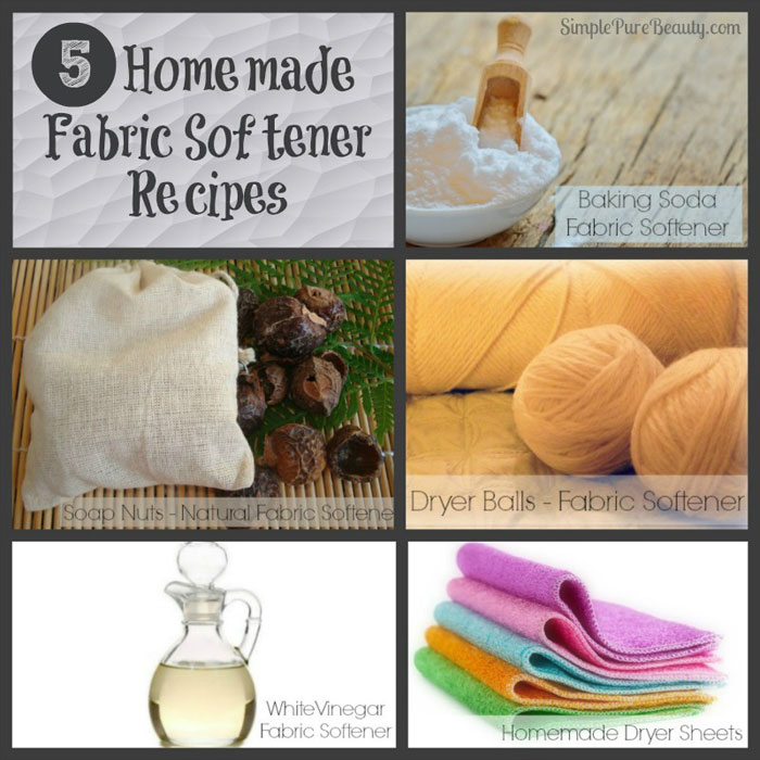 5 Non-Toxic Homemade Fabric Softener Recipes