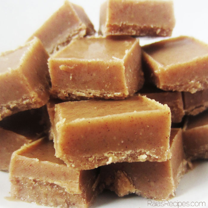 Quick & Easy Nut Butter Freezer Fudge (gluten, grain, dairy free, paleo) // deliciousobsessions.com #realfood #paleo #dessert