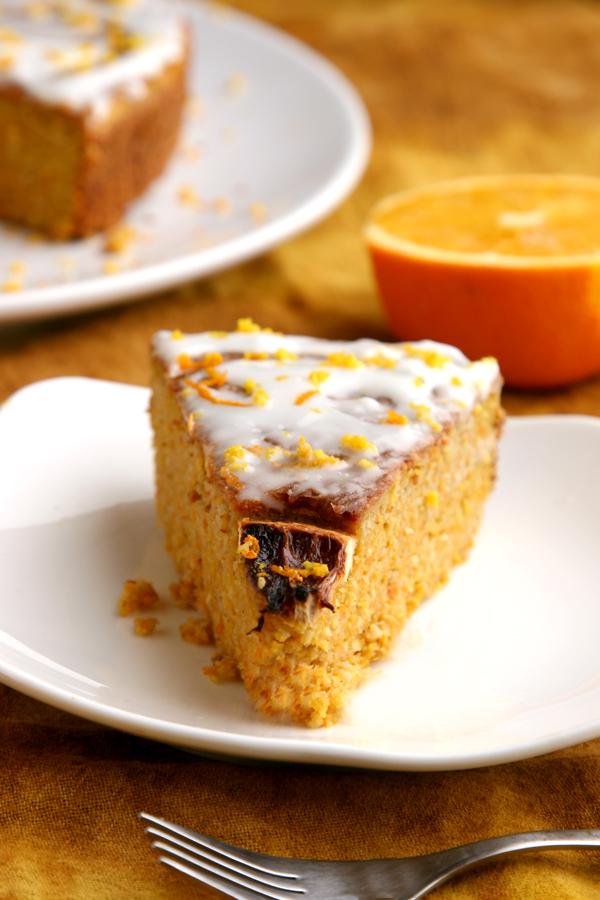 Orange Coconut Cake (Paleo / Primal, gluten, grain, dairy free)
