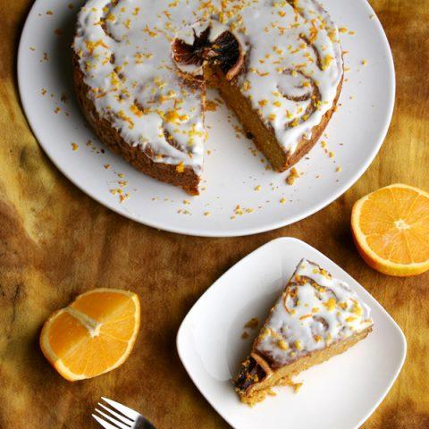 Orange Coconut Cake // DeliciousObsessions.com #paleo #primal #glutenfree #grainfree #dairyfree