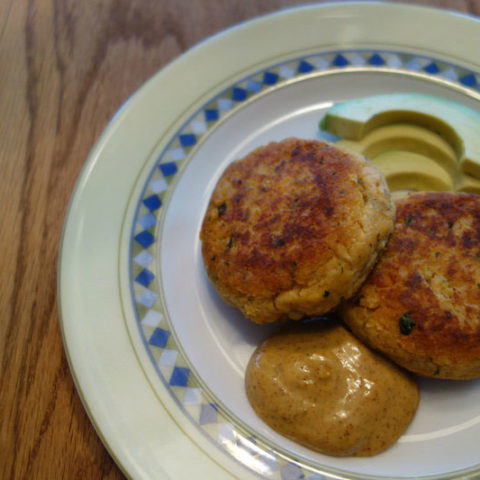 Cumin Spiced Salmon Patties