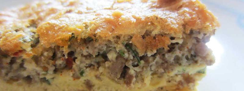 Fluffy Crustless Quiche :: Grain-Free, Gluten-Free, Paleo, Primal