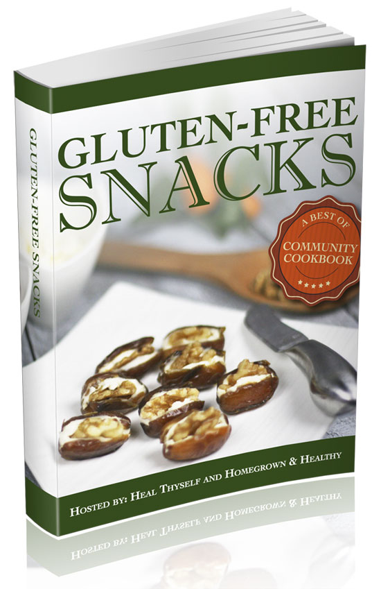 Gluten-Free Snacks: A Best of Community Cookbook from 34 Real Food Bloggers ($3.97 for 14 Days ONLY!) // deliciousobsessions.com