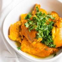 Saffron Chicken with Orange Reduction :: Gluten-Free, Grain-Free, Dairy-Free