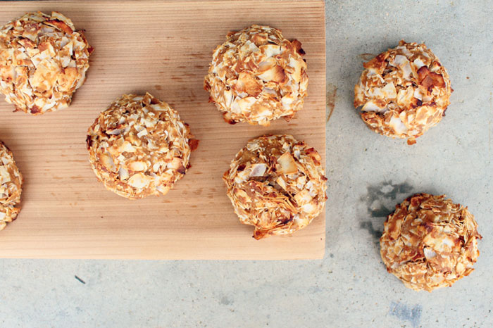 Coconut Plantain Snickeroons (gluten, grain, dairy, nut, seed free, autoimmune paleo) // deliciousobsessions.com