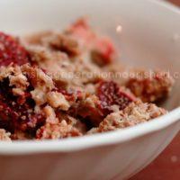Strawberry Granola Cereal :: Gluten-Free, Grain-Free, Dairy-Free, Refined Sugar-Free
