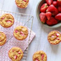 Strawberry Banana Muffins :: Gluten-Free, Grain-Free, Dairy-Free, Nut-Free, Seed Free