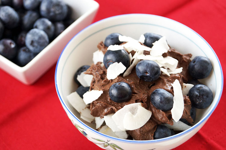 Double Dark Chocolate Coconut Milk Pudding :: Gluten and Dairy Free, Paleo / Primal // deliciousobsessions.com