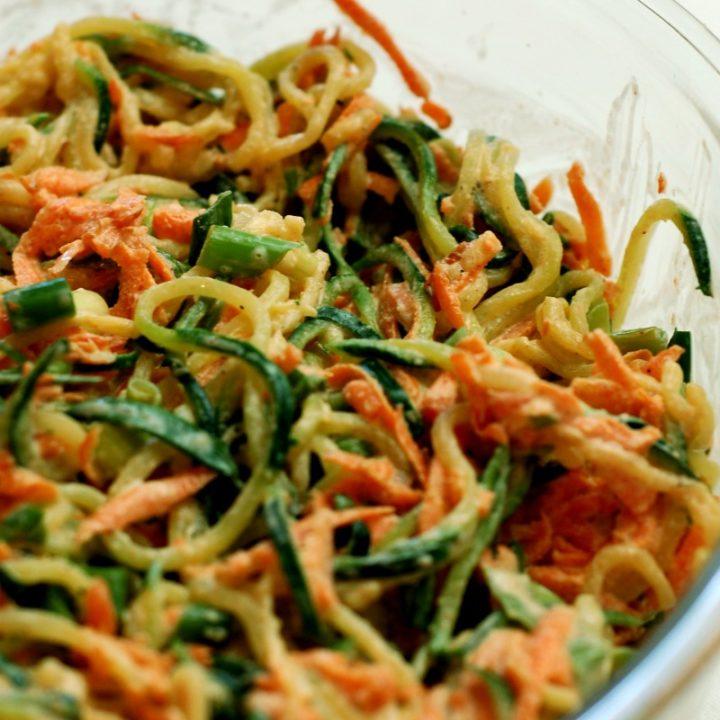 Zucchini Coleslaw :: Gluten-Free, Grain-Free, Dairy-Free Option