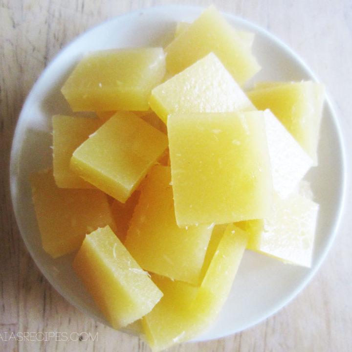 Honey Orange Fruit Snacks :: Grain and Gluten Free, Paleo/Primal // deliciousobsessions.com