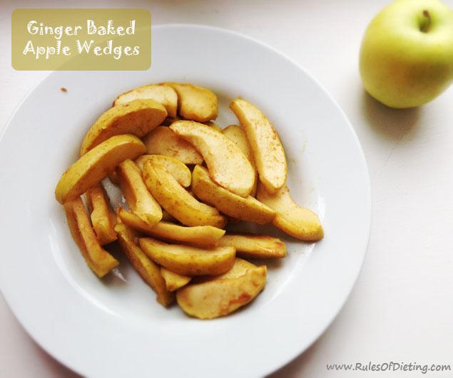 Ginger Baked Apple Wedges :: Gluten-Free, Grain-Free, Dairy-Free, Autoimmune Paleo
