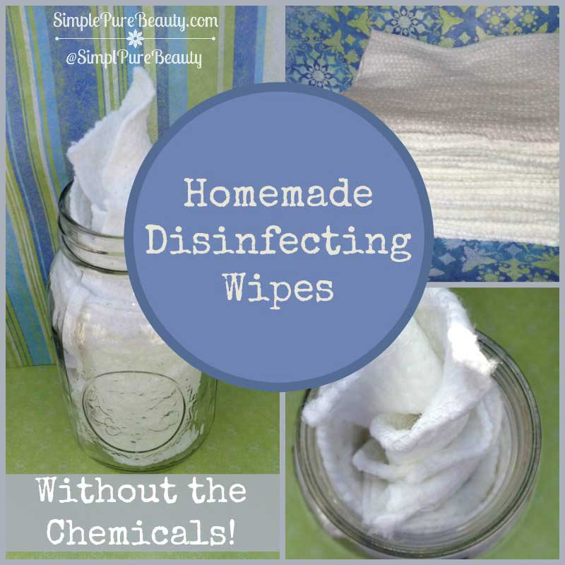 Greener Homemade Disinfecting Wipes Without the Harmful Chemicals!