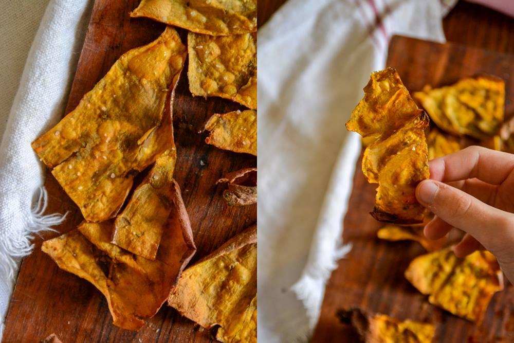 Crispy Sweet Potato Skins :: Gluten-Free, Grain-Free, Dairy-Free