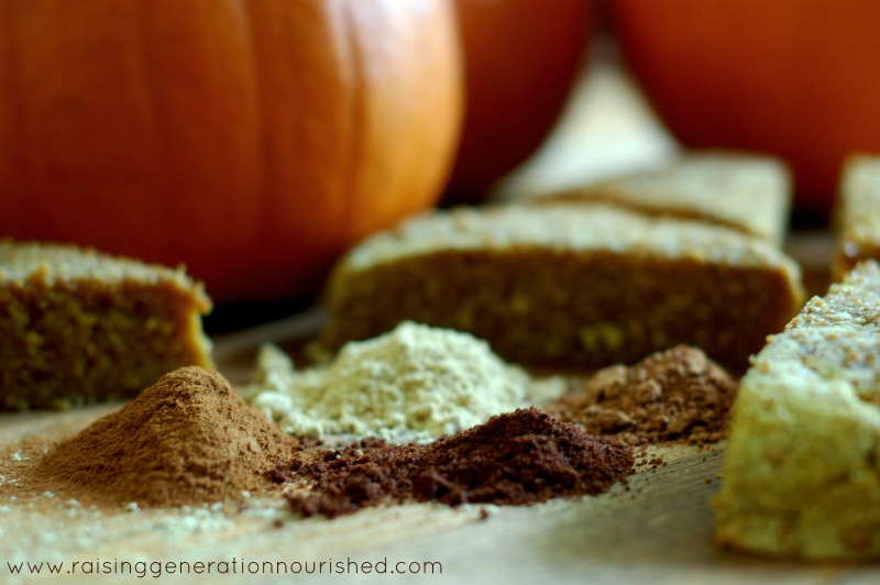 Grain Free Pumpkin Scones // Delicious Obsessions // #pumpkin #grainfree #paleo