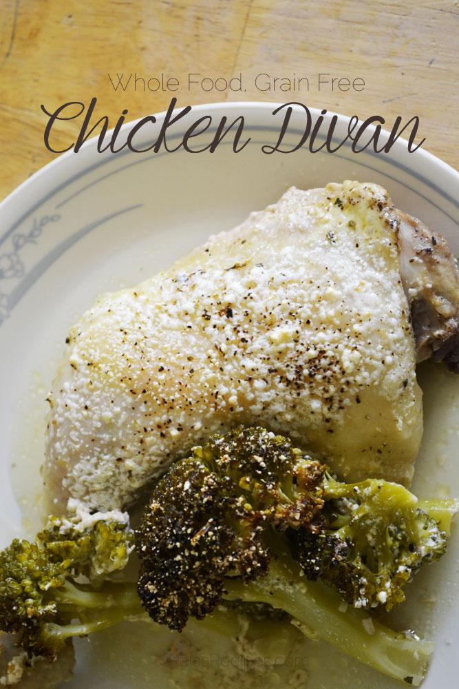 Creamy Chicken Divan :: Gluten-Free, Grain-Free, Dairy-Free Option