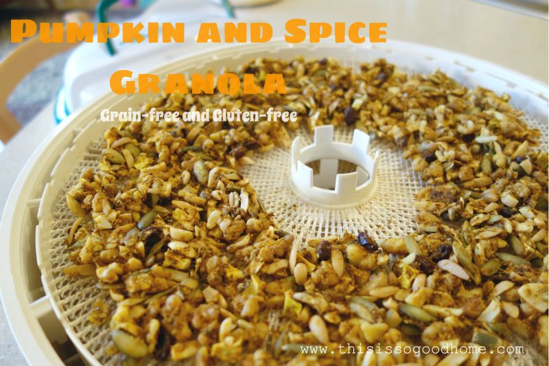 Pumpkin and Spice Granola :: Grain-Free, Gluten-Free, Dairy-Free