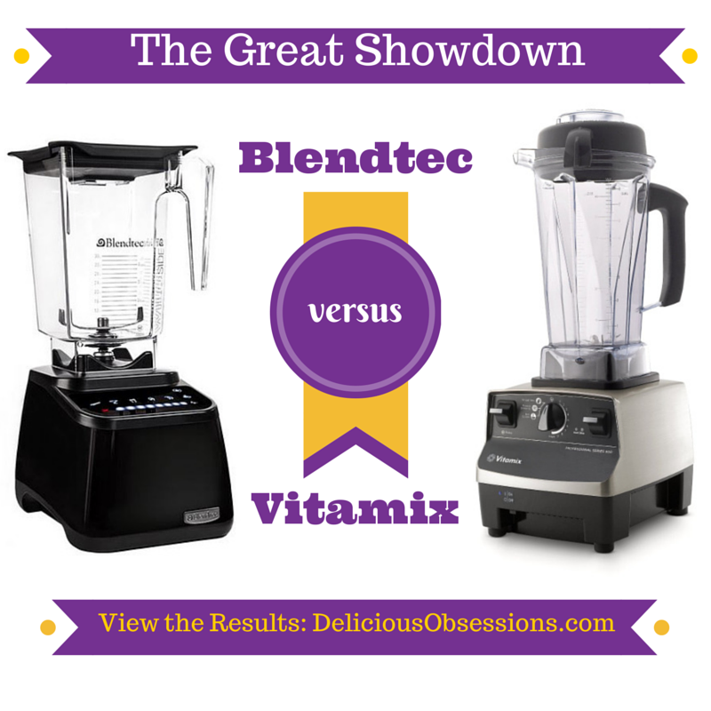 The Great Blendtec vs. Vitamix Showdown (and who I chose as the winner)
