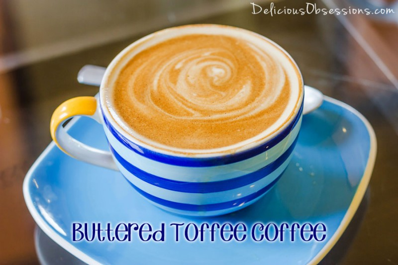 """Hot Buttered Toffee """"Coffee"""" :: Gluten-Free, Grain-Free, Dairy-Free Option, Refined Sugar-Free"""