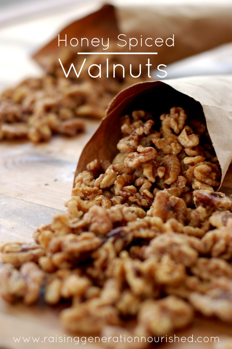 Honey Spiced Walnuts :: Gluten, Grain, and Dairy-Free, Paleo / Primal // deliciousobsessions.com