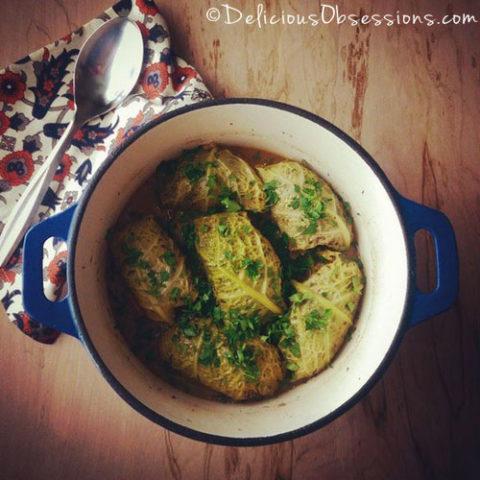 Stuffed Cabbage (Cabbage Dolmas) :: Gluten-Free, Grain-Free, Dairy-Free