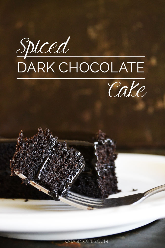 Spiced Dark Chocolate Cake :: Grain-Free, Dairy-Free, Paleo