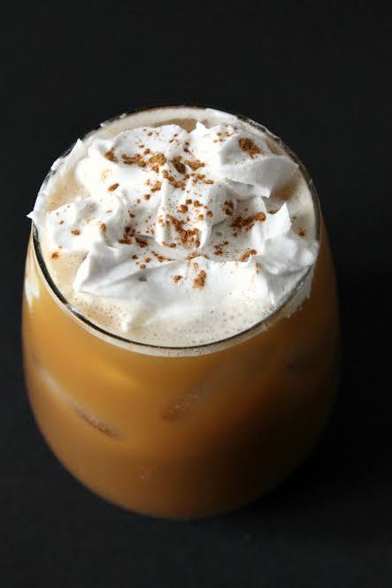 Creamy Pumpkin Spice Latte :: #DairyFree, #Paleo / Primal // deliciousobsessions.com #pumpkinspice #pumpkin #fall #starbucks