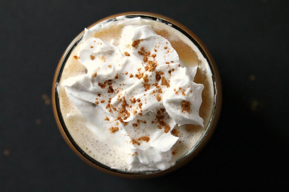 Creamy Pumpkin Spice Latte :: Dairy Free, Paleo / Primal