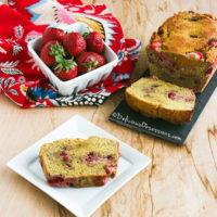 Strawberry Coffee Cake :: Gluten-Free, Grain-Free, Dairy Free