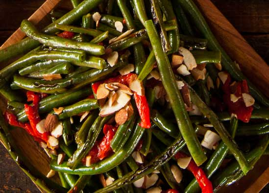 HealthyGreen Beans , A Holiday Menu Makeover: Simple Swaps for a Healthier Family Dinner // deliciousobsessions.com