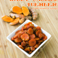How to Make Candied Turmeric and Turmeric Syrup