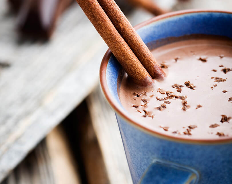 Coconut Milk Hot Chocolate :: Gluten-Free, Grain-Free, Dairy-Free, Refined Sugar-Free