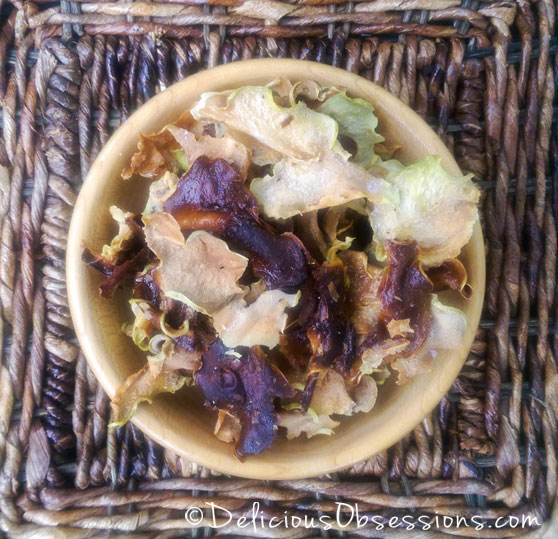 Kohlrabi Chips from The Frugal Paleo Cookbook :: Gluten Free, Grain Free, Dairy Free, Paleo / Primal // deliciousobsessions.com