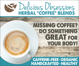 Ditch the coffee and caffeine and try my delicious herbal coffee blends!