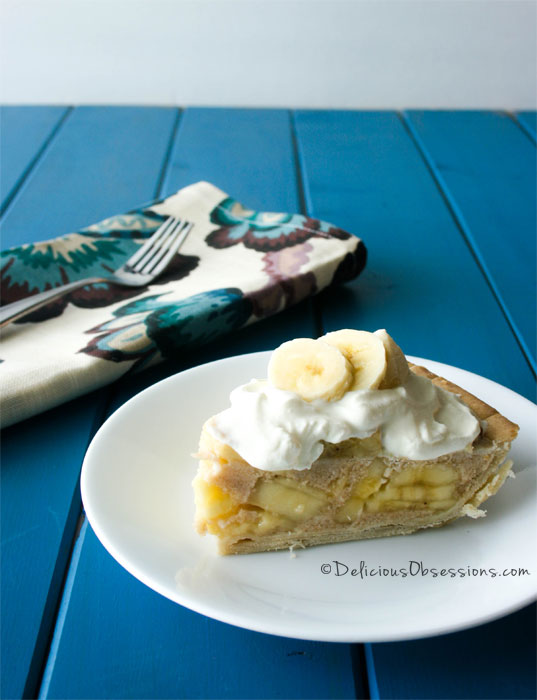 Banana Cream Pie :: Gluten-Free, Grain-Free, Dairy-Free From Paleo Eats // deliciousobsessions.com