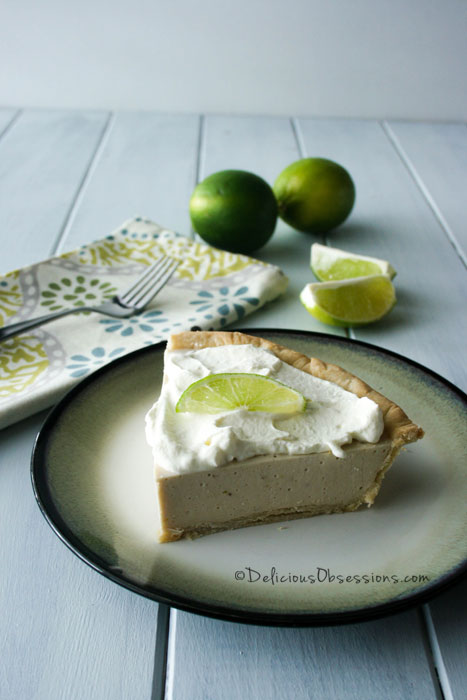 Key Lime Pie :: Gluten-Free, Grain-Free, Dairy-Free From Paleo Eats // deliciousobsessions.com