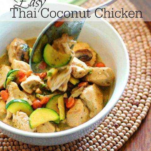 Thai Coconut Chicken :: Gluten Free, Grain Free, Dairy Free