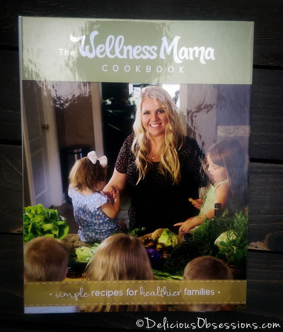 Cashew Chicken Lettuce Wraps and The Wellness Mama Cookbook Review // deliciousobsessions.com