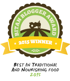 2015 BITAN Award Winner // deliciousobsessions.com