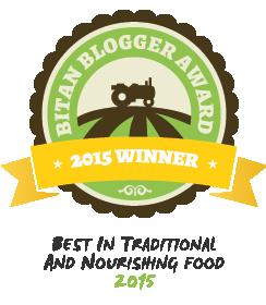 2015 BITAN Award Winner // deliciousobsessions.com