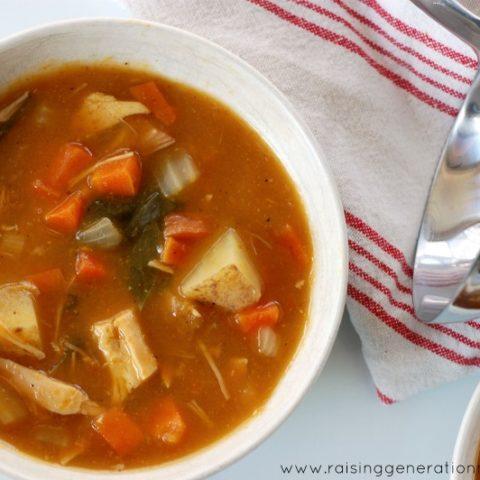 Slow Cooker Paleo Chicken Stew :: Grain-Free, Gluten-Free, Dairy-Free
