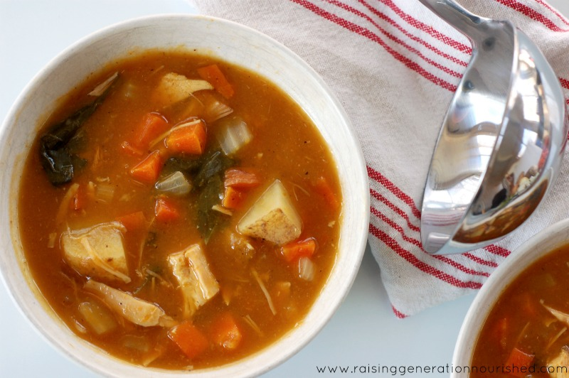 Slow Cooker Paleo Chicken Stew :: Grain-Free, Gluten-Free, Dairy-Free, Paleo/Primal // deliciousobsessions.com