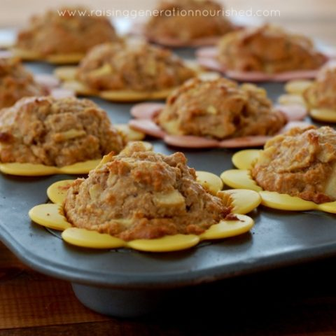Grain Free Apple Cinnamon Muffins :: Gluten-Free, Dairy-Free