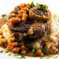Slow Cooker Beef Shanks with Garlic and Herbs :: Gluten-Free, Grain-Free, Dairy-Free Option