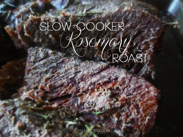 Slow Cooker Rosemary Roast
