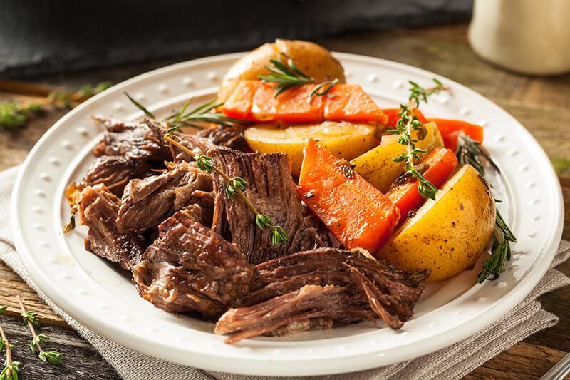 Slow Cooker Rosemary Roast :: Gluten-Free, Grain-Free, Dairy-Free